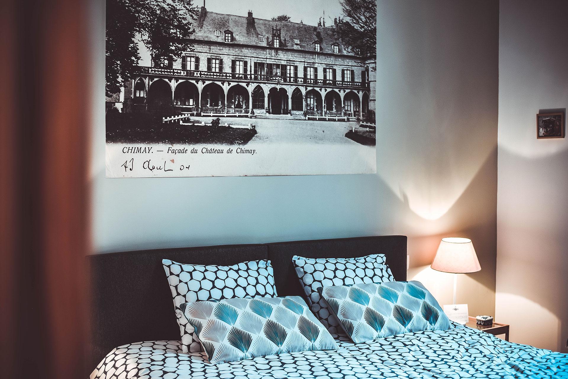 Gîte - Principauté - Gîte citadin - Chimay - meublé
