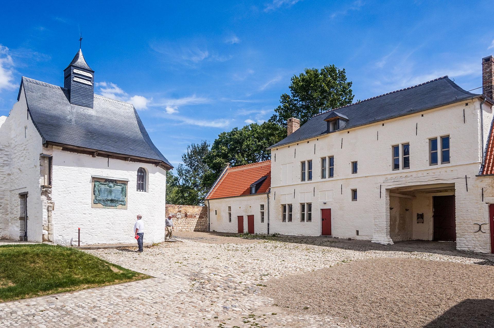 Braine l'Alleud - Ferme-d'Hougoumont - Bataille de Waterloo