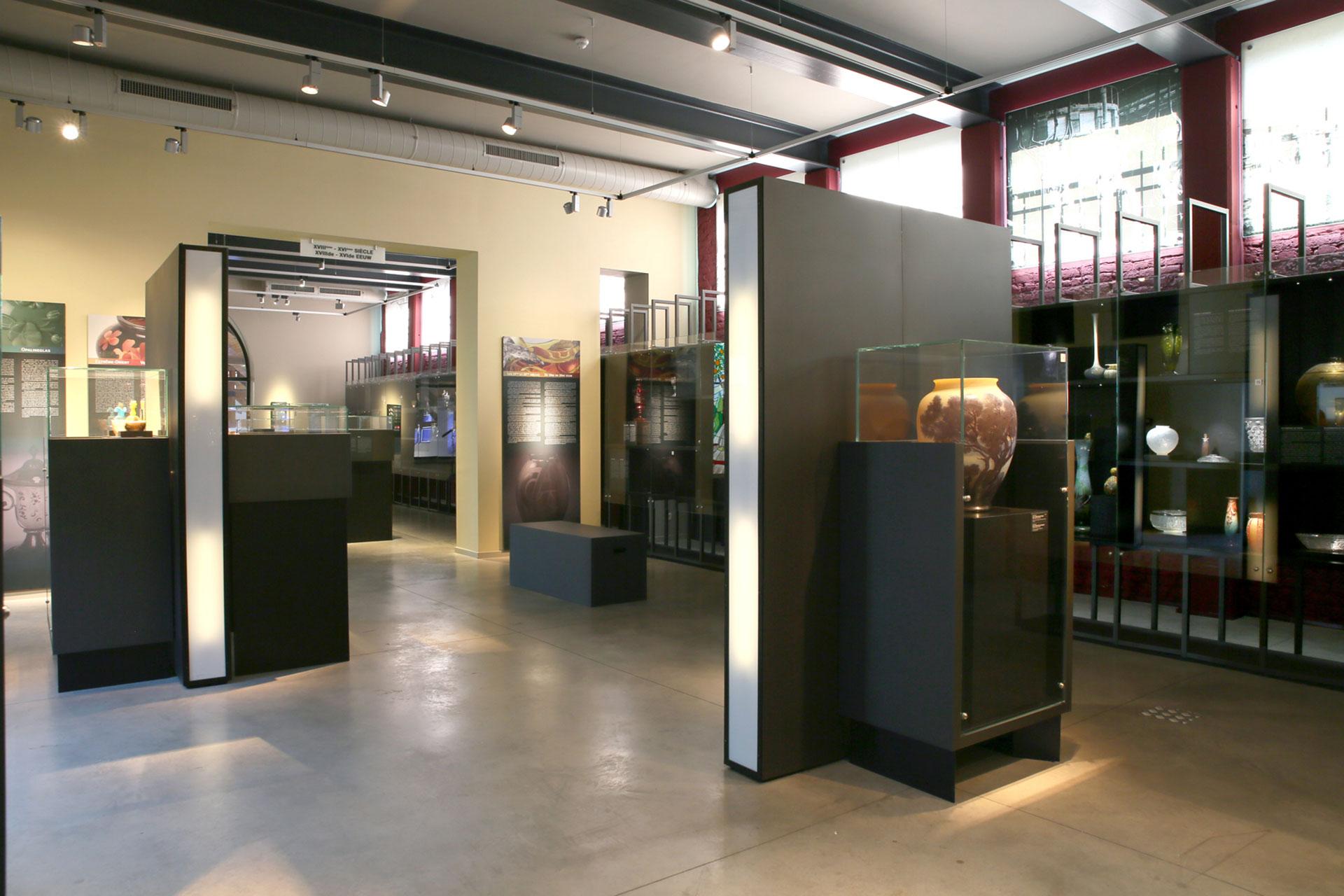 Musée - Verre - Bois du Cazier
