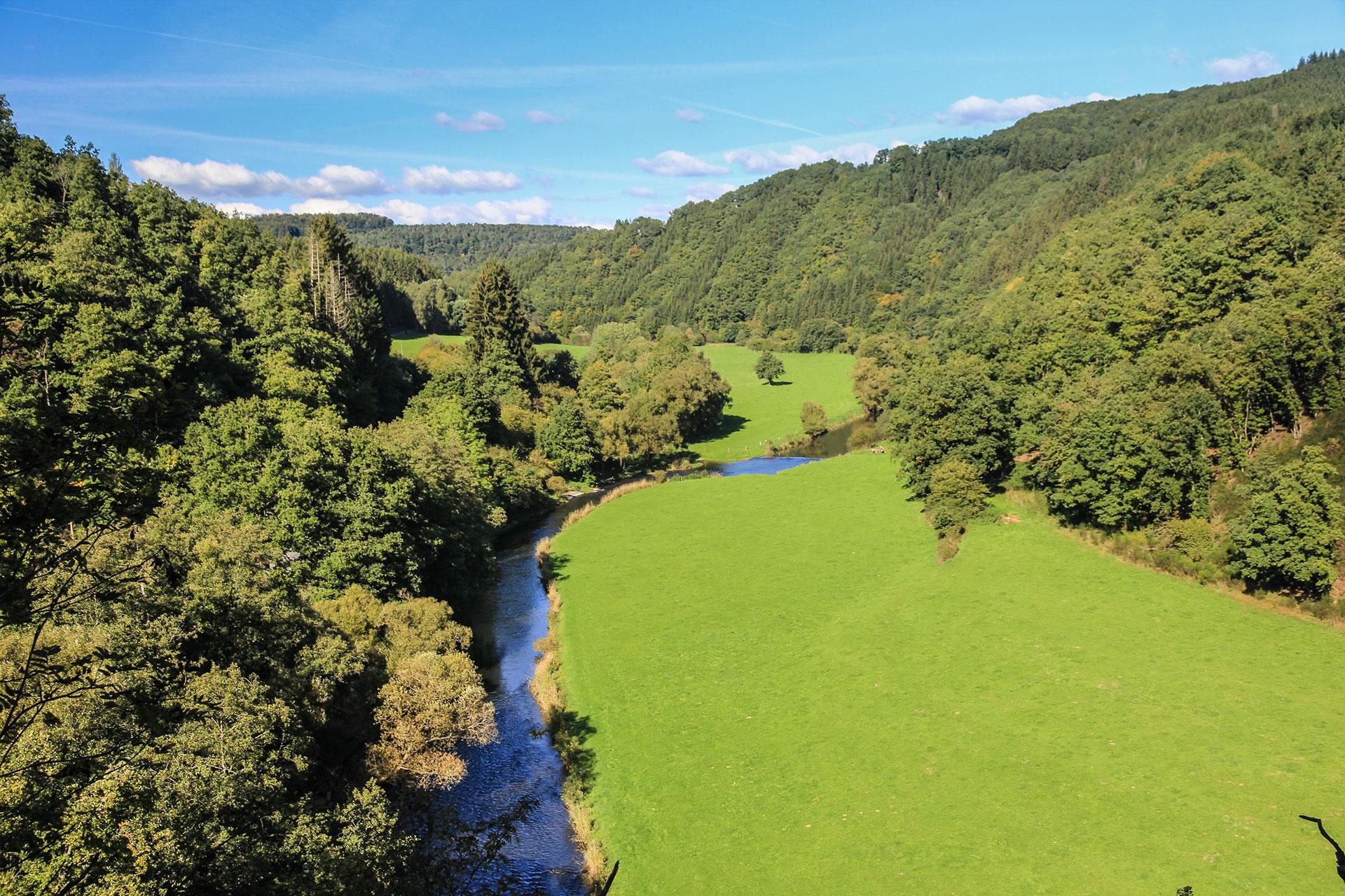 Vallée de l'Our - site des Trois Frontières - Wallonie insolite
