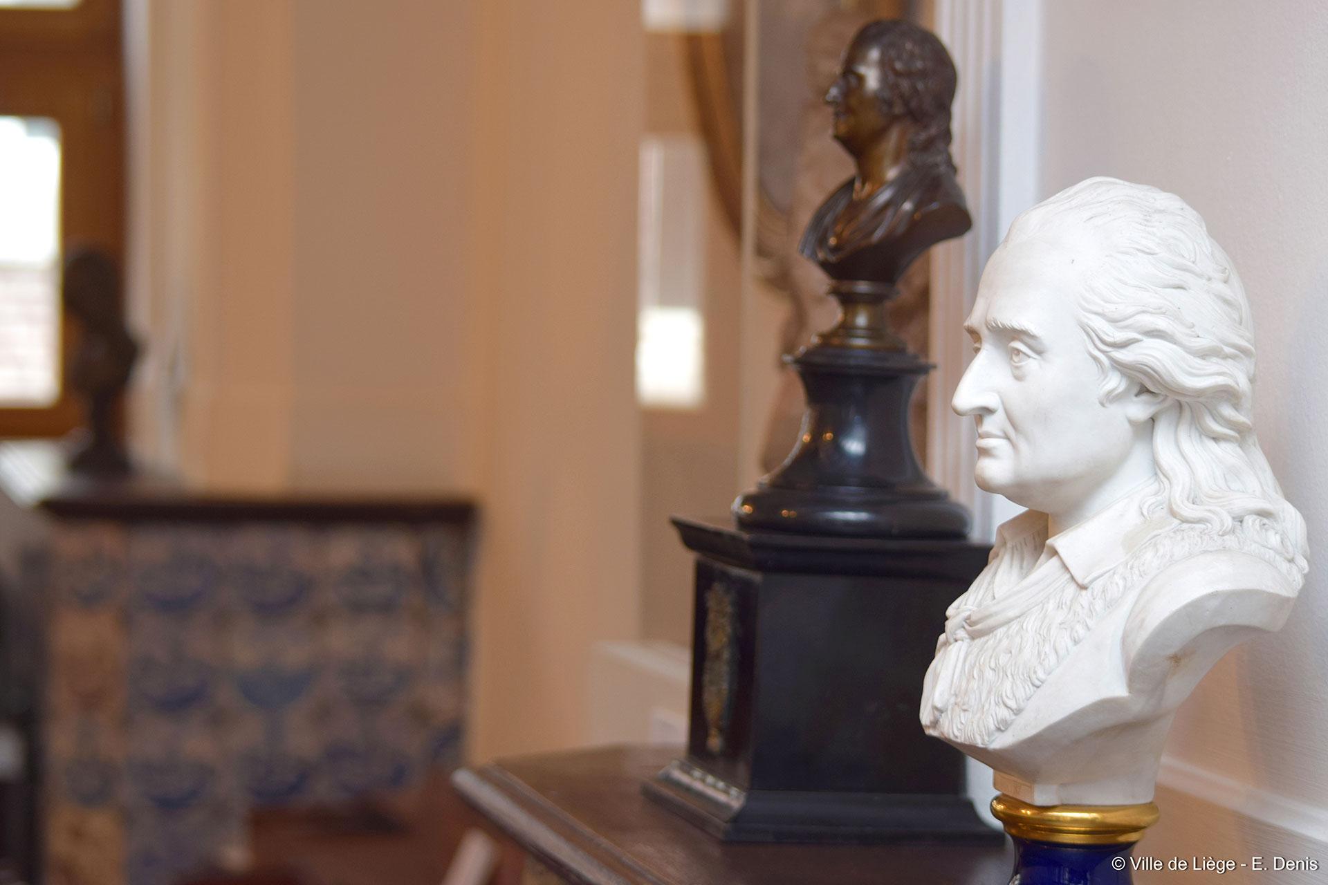 Maison natale de Grétry - Peintures - miniatures - sculptures - gravures - objets personnels - témoignages - musicien