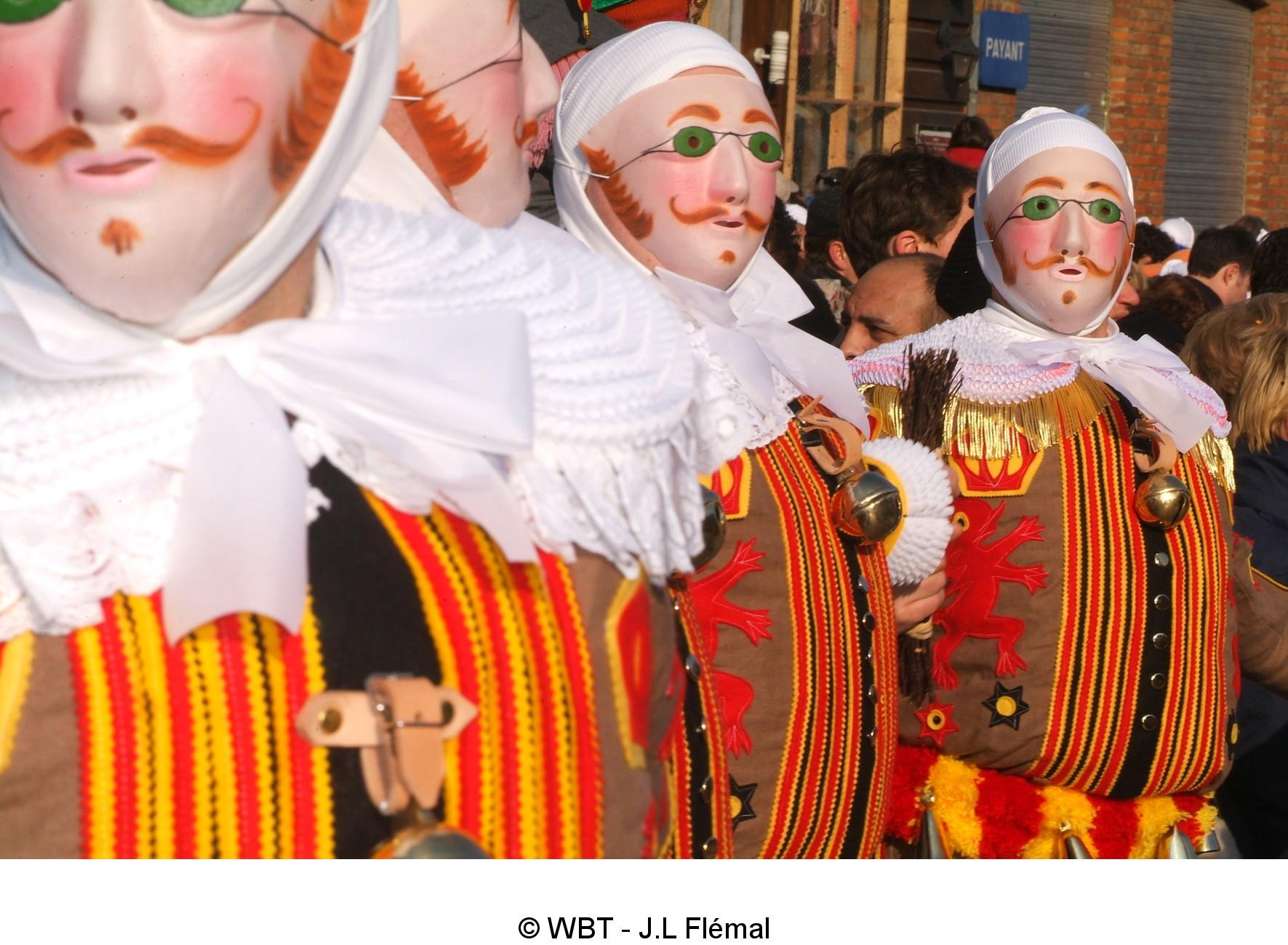 Carnaval de Binche - Les Gilles de Binche