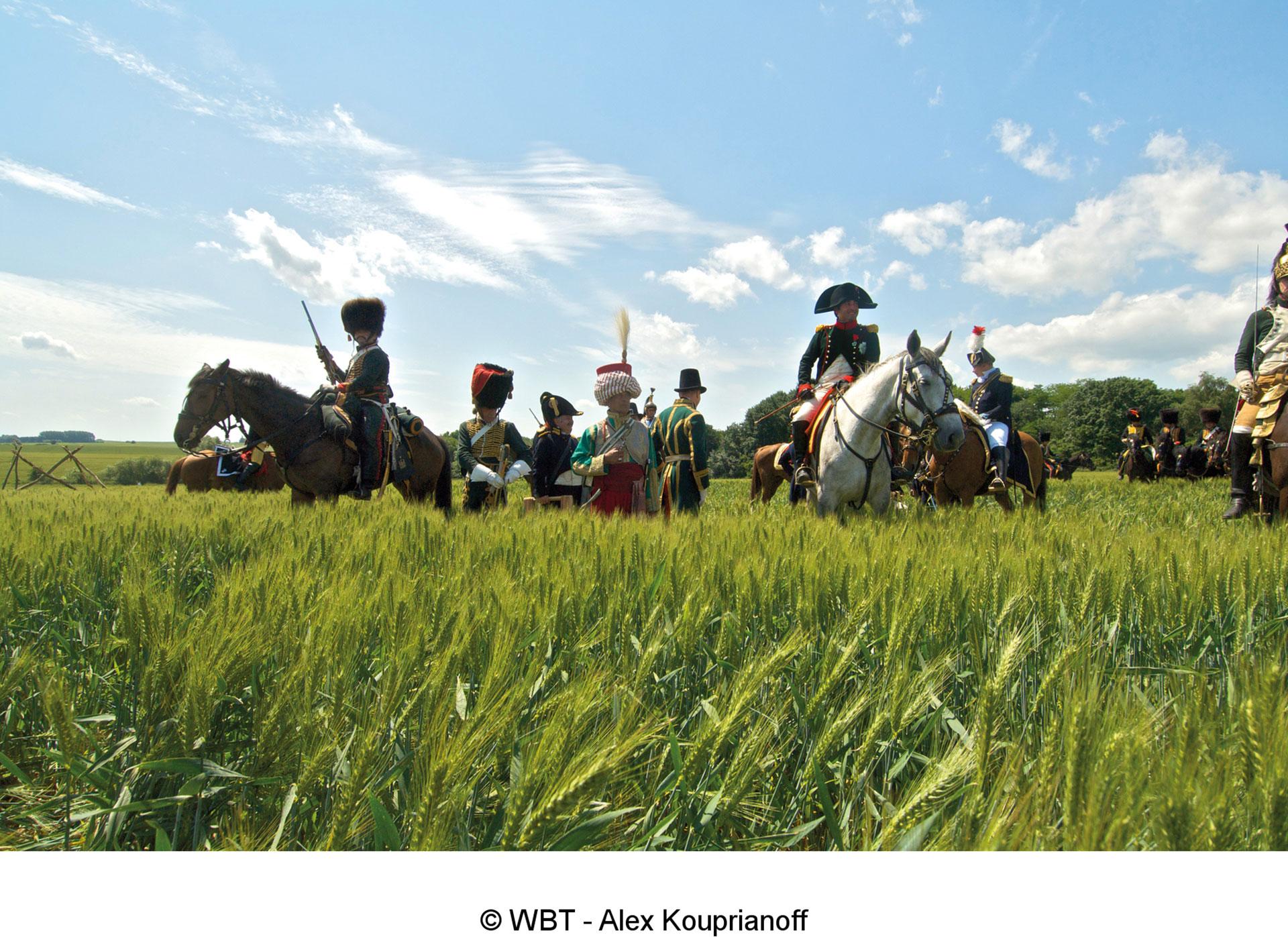 Commemoration - bataille - Waterloo