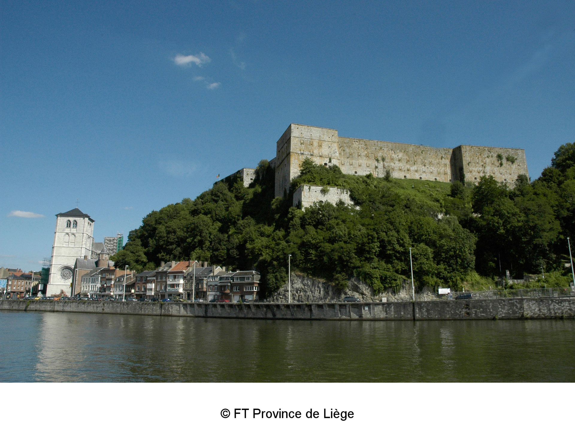 Huy - Collegiale Notre-dame - Fort