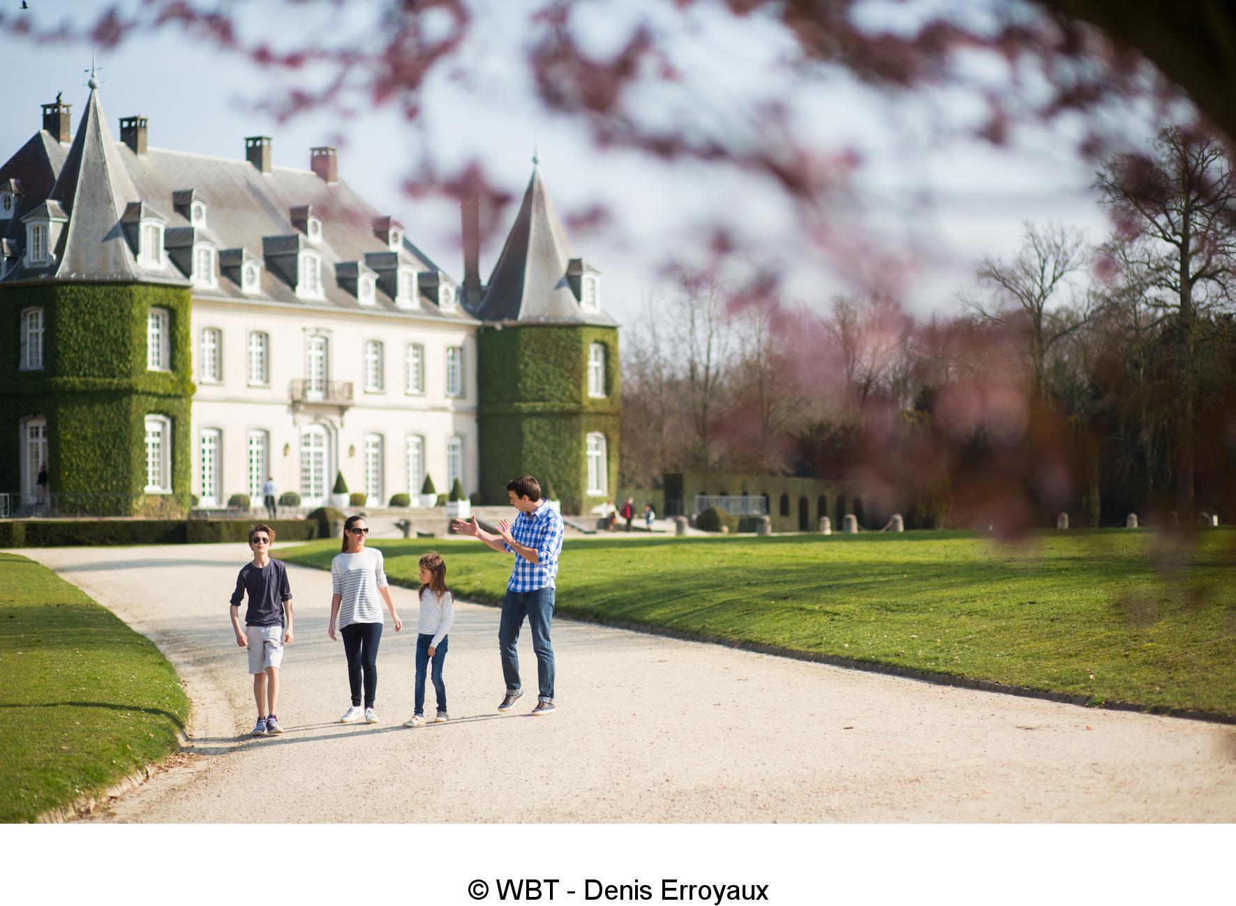 Découvrez le Chateau De La Hulpe, au Domaine Regional Solvay
