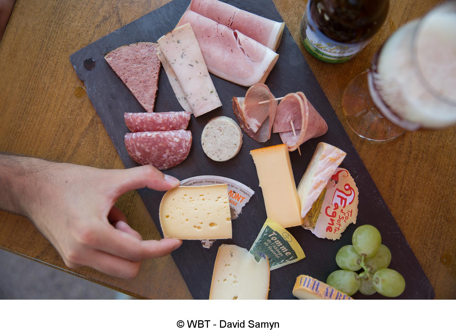 Découvrez les produits du terroir de Stavelot; Charcuterie et fromages sont au rendez-vous - 244436