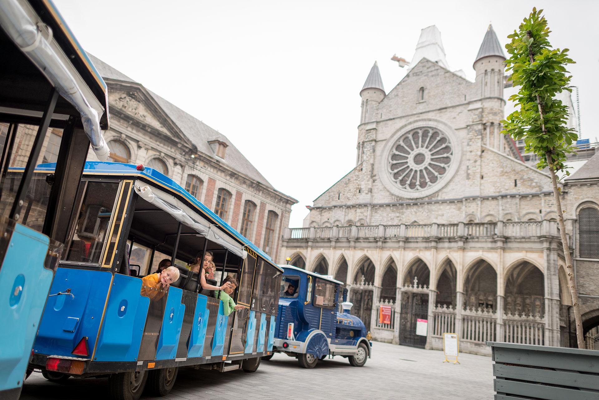 Promenade - train touristique - Tournai
