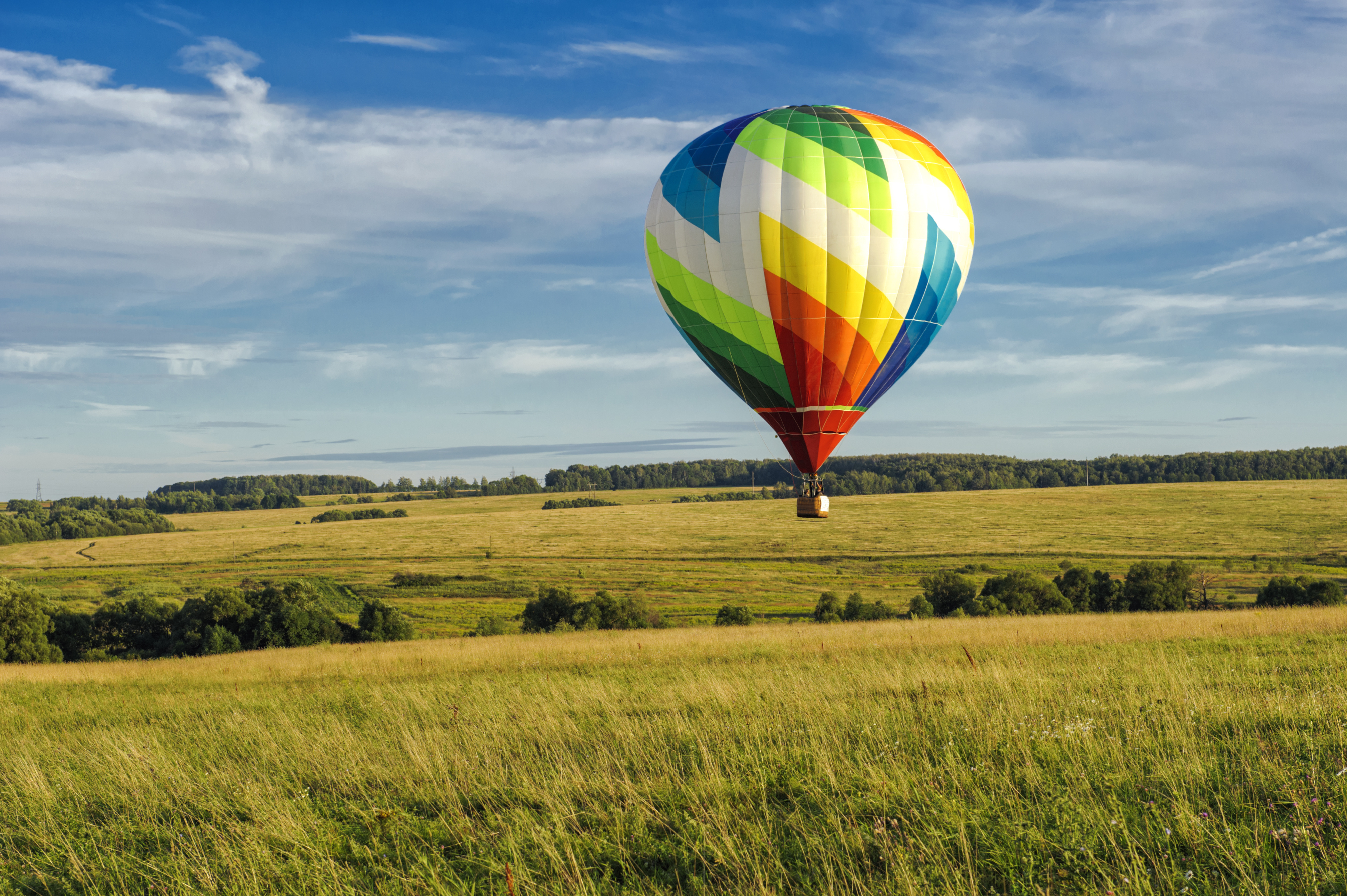 Vol en montgolfière - AdobeStock