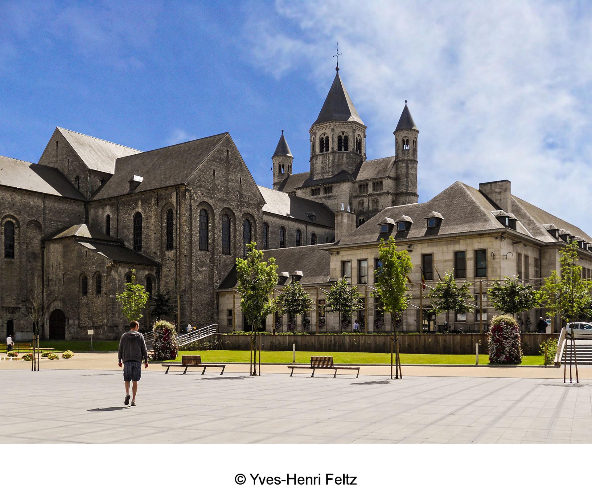 Collégiale Sainte-Gertrude - Nivelles - vue extérieure