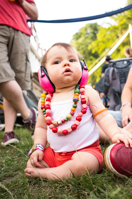 Festival - bébé - musique