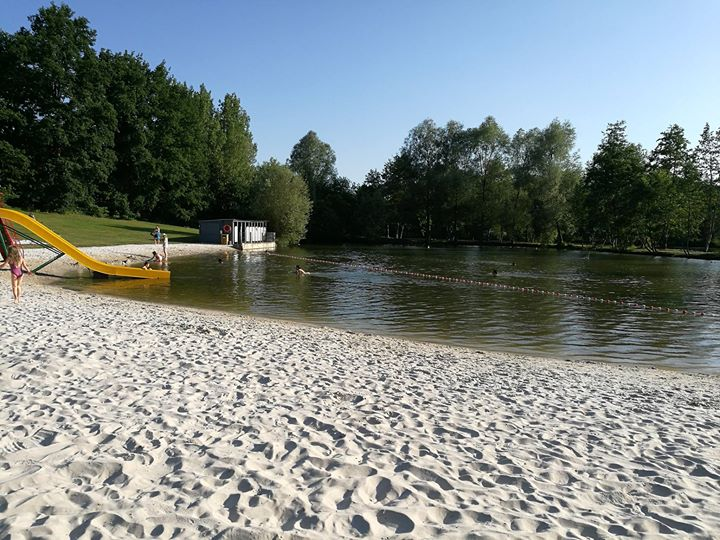 Renipont Plage à Lasne | Wallonie, Terre d'eau