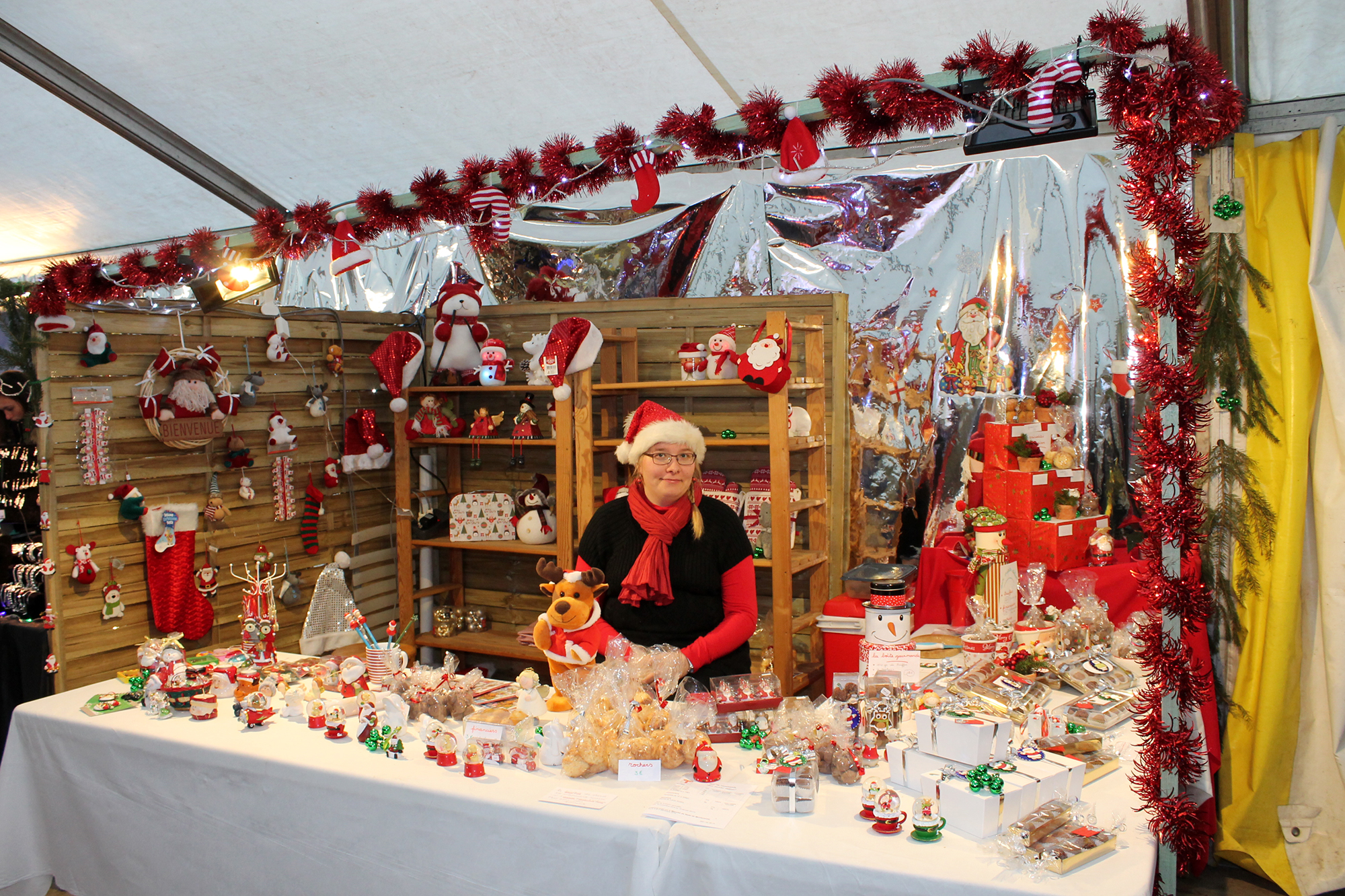 Discover the magical festive atmosphere at Morlanwelz Christmas market