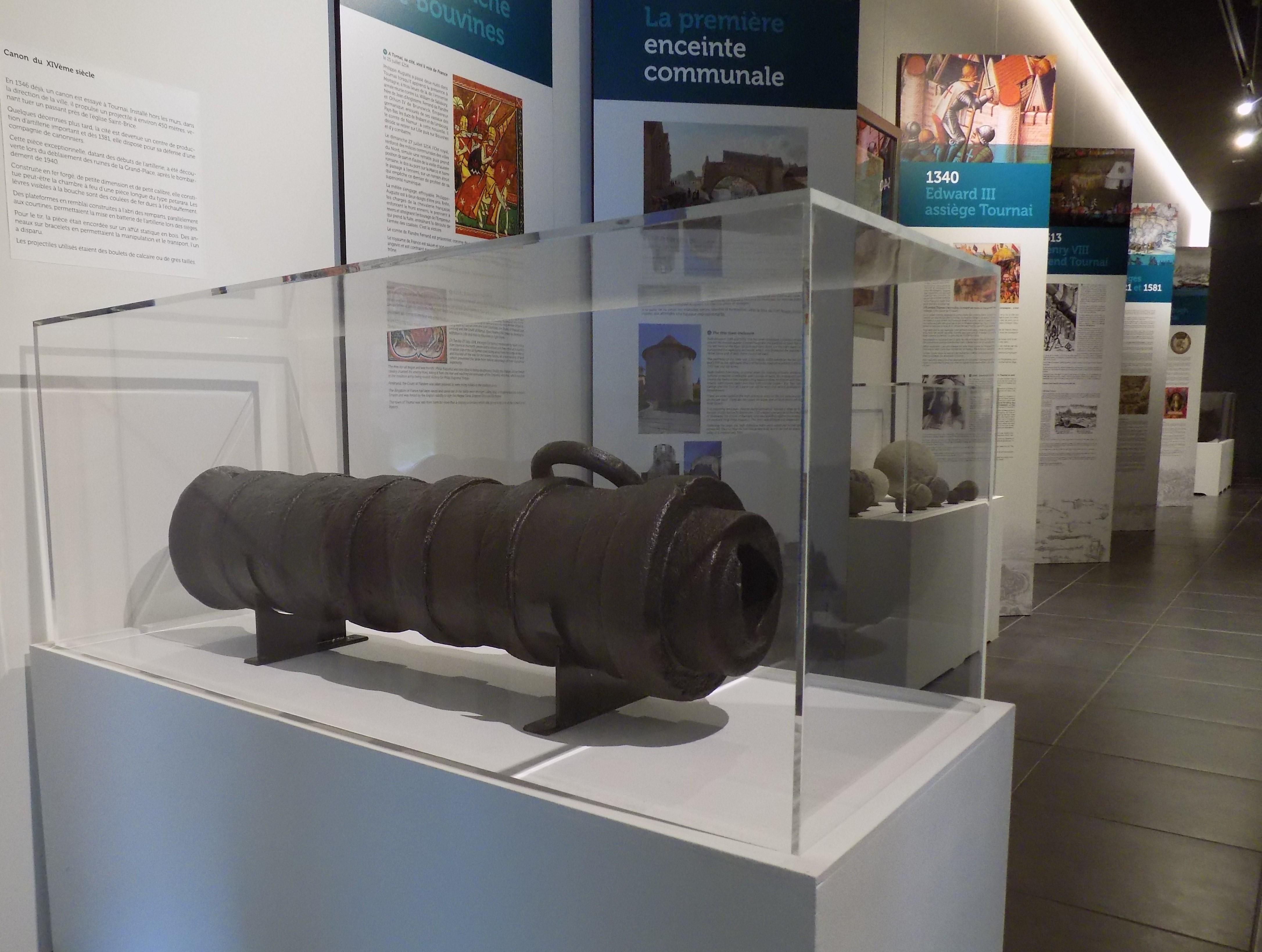 Musée - Histoire Militaire - Tournai - Canon