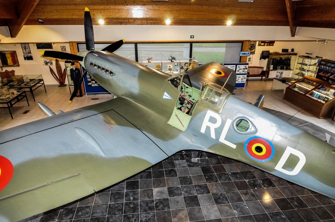 Musée Spitfire - Base militaire de Florennes
