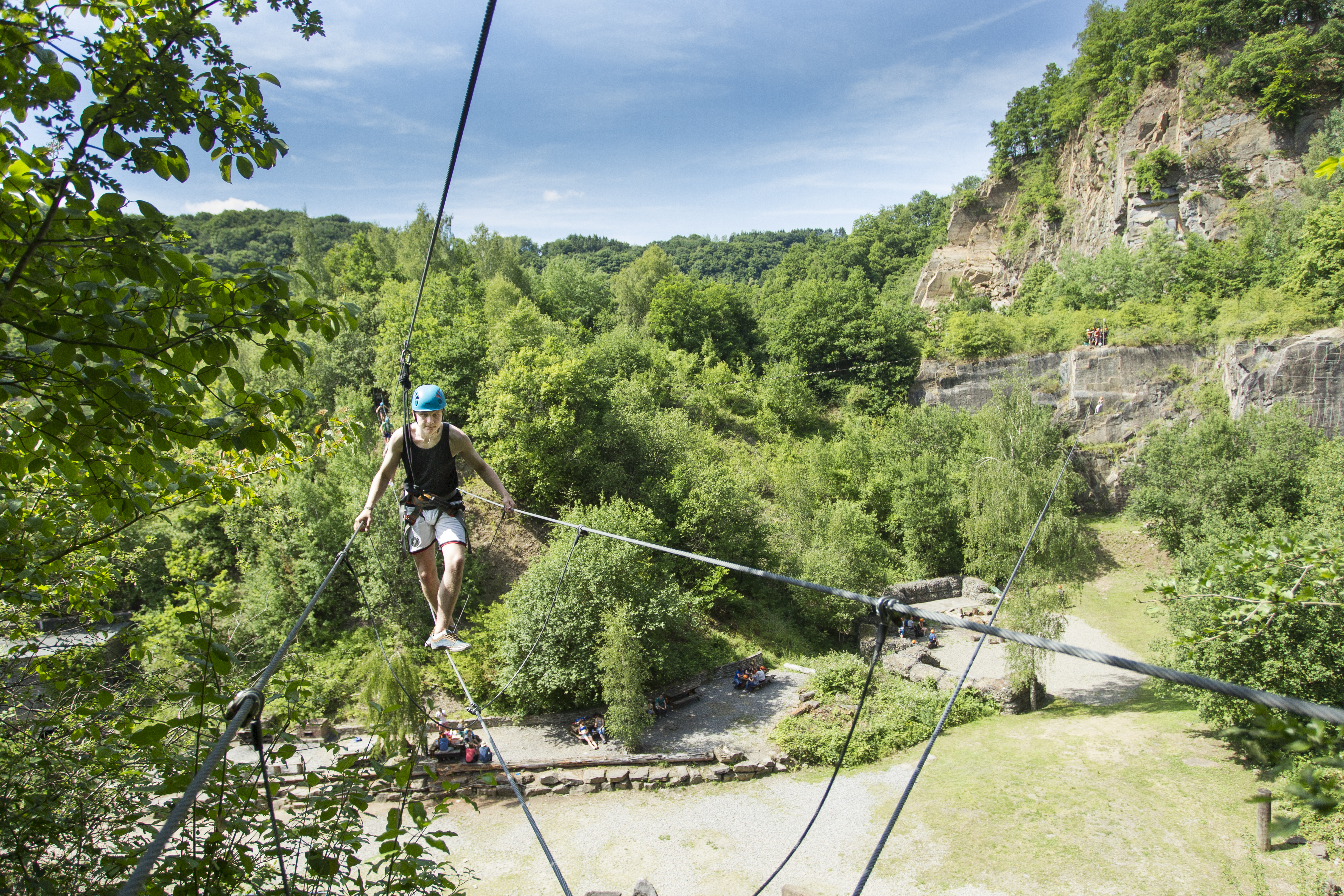 The Outsider Ardennes The Rock, l'aventure parc   Hamoir