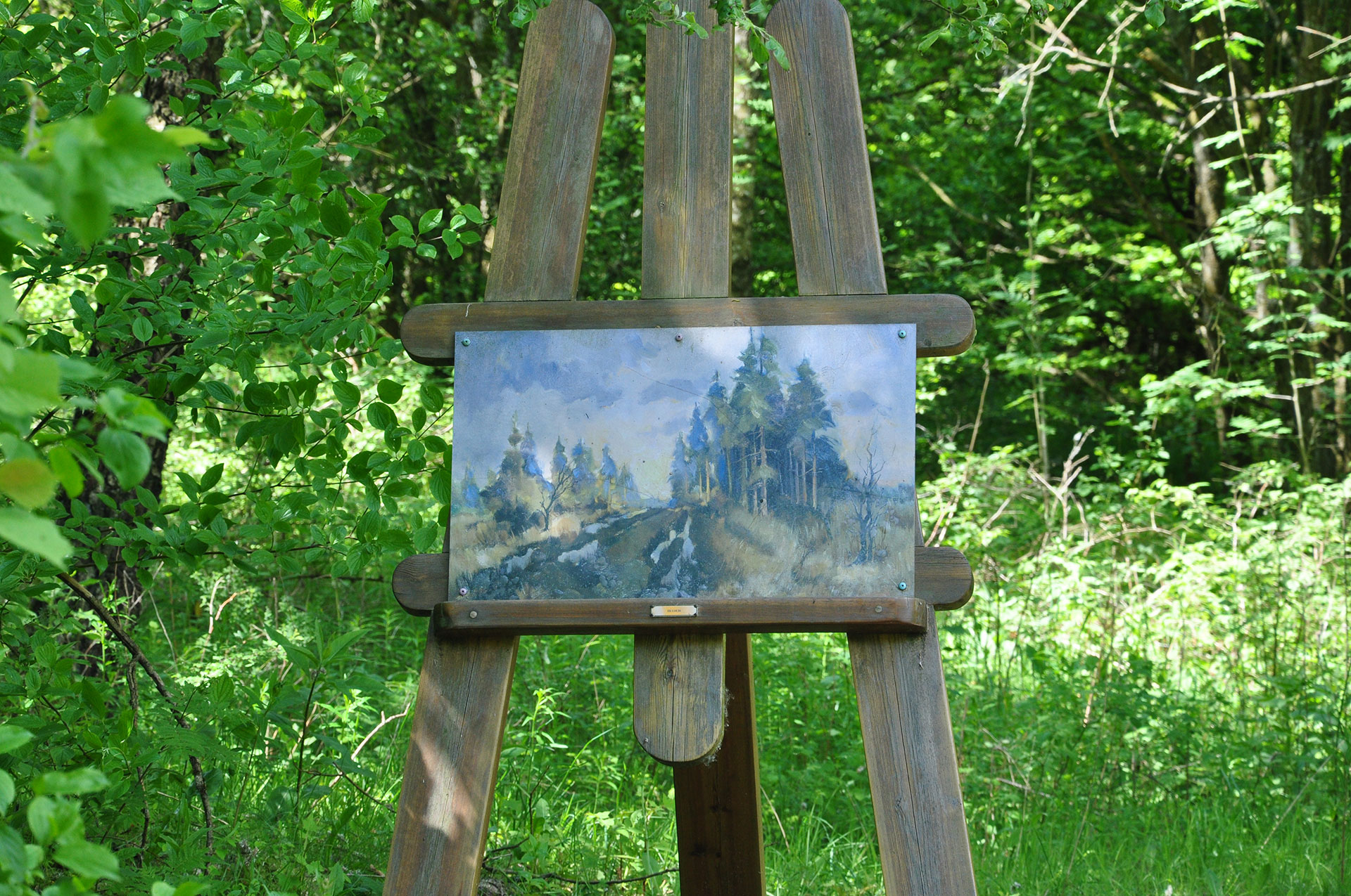 Parc Chlorophylle - peintures