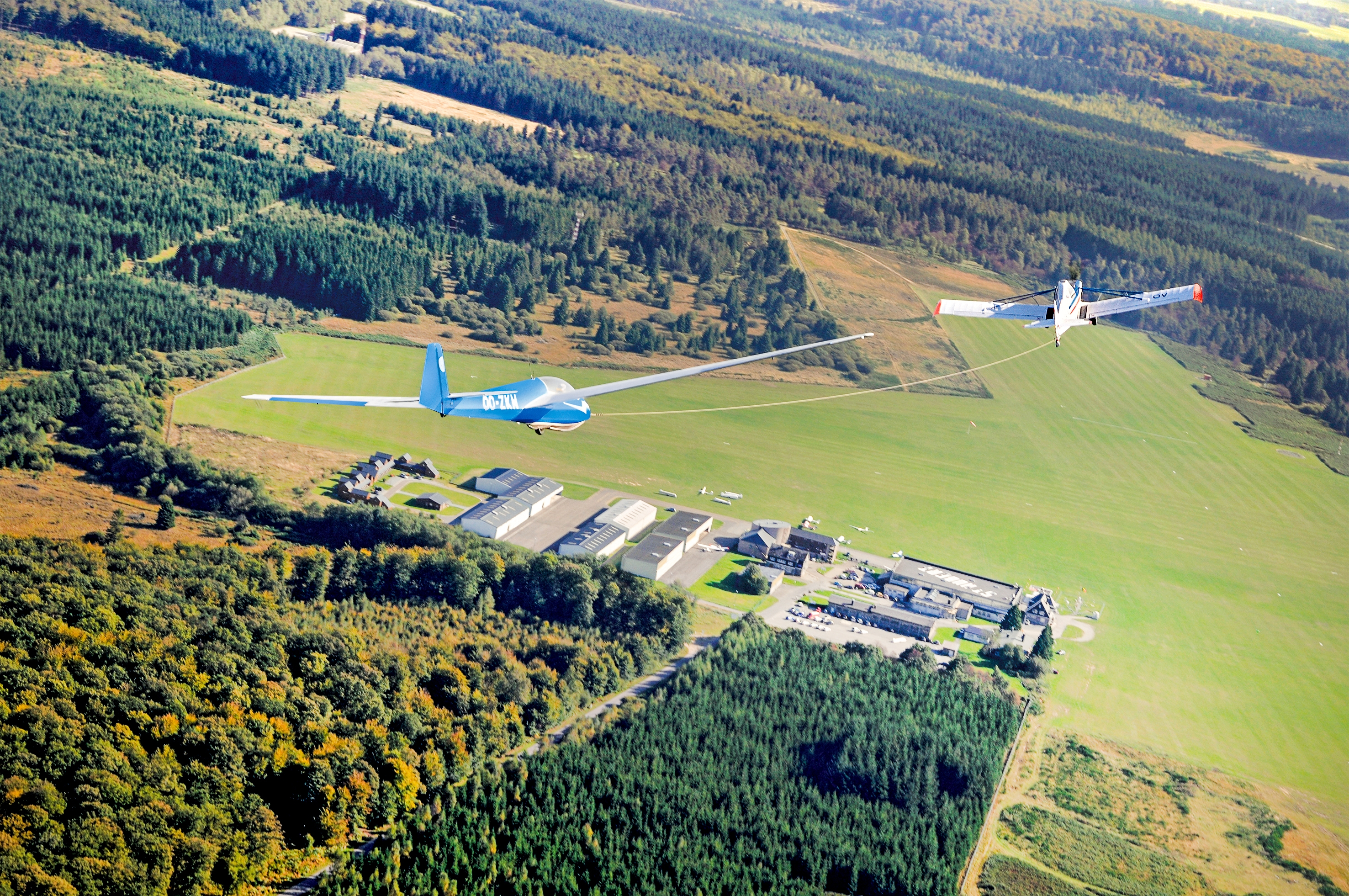 L'aérodrome de Saint-Hubert