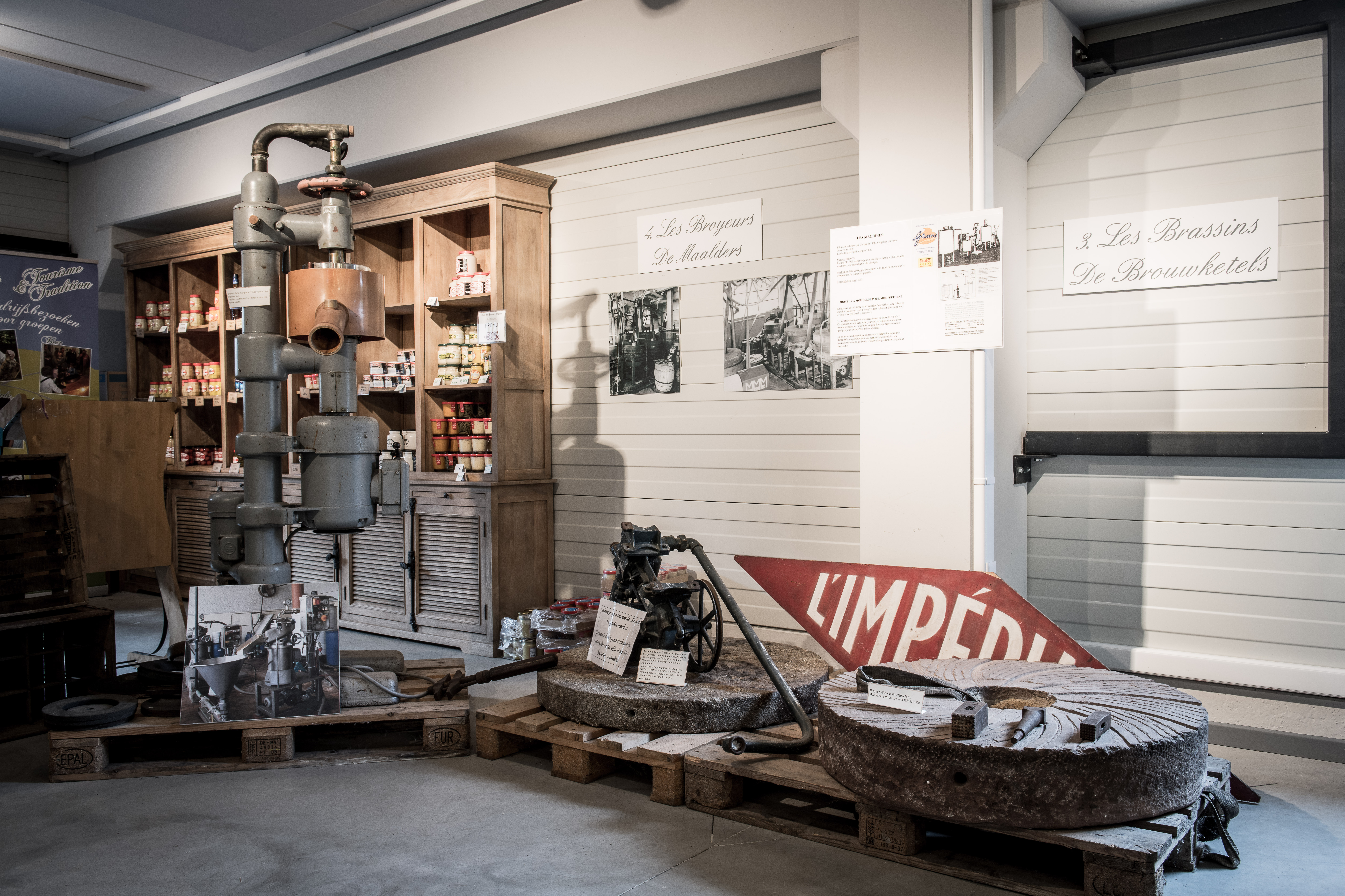 Moutarderie - Musée de la Moutarde - Bister - Achêne - Visit'Entreprise