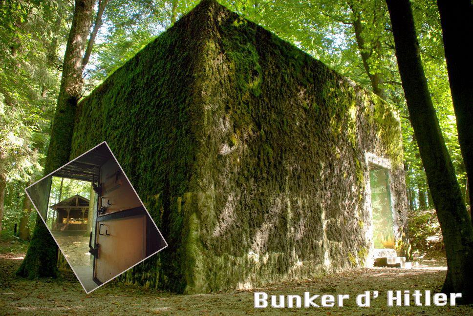 Búnker - Hitler - Brûly-de-Pesche - Valonia insólita