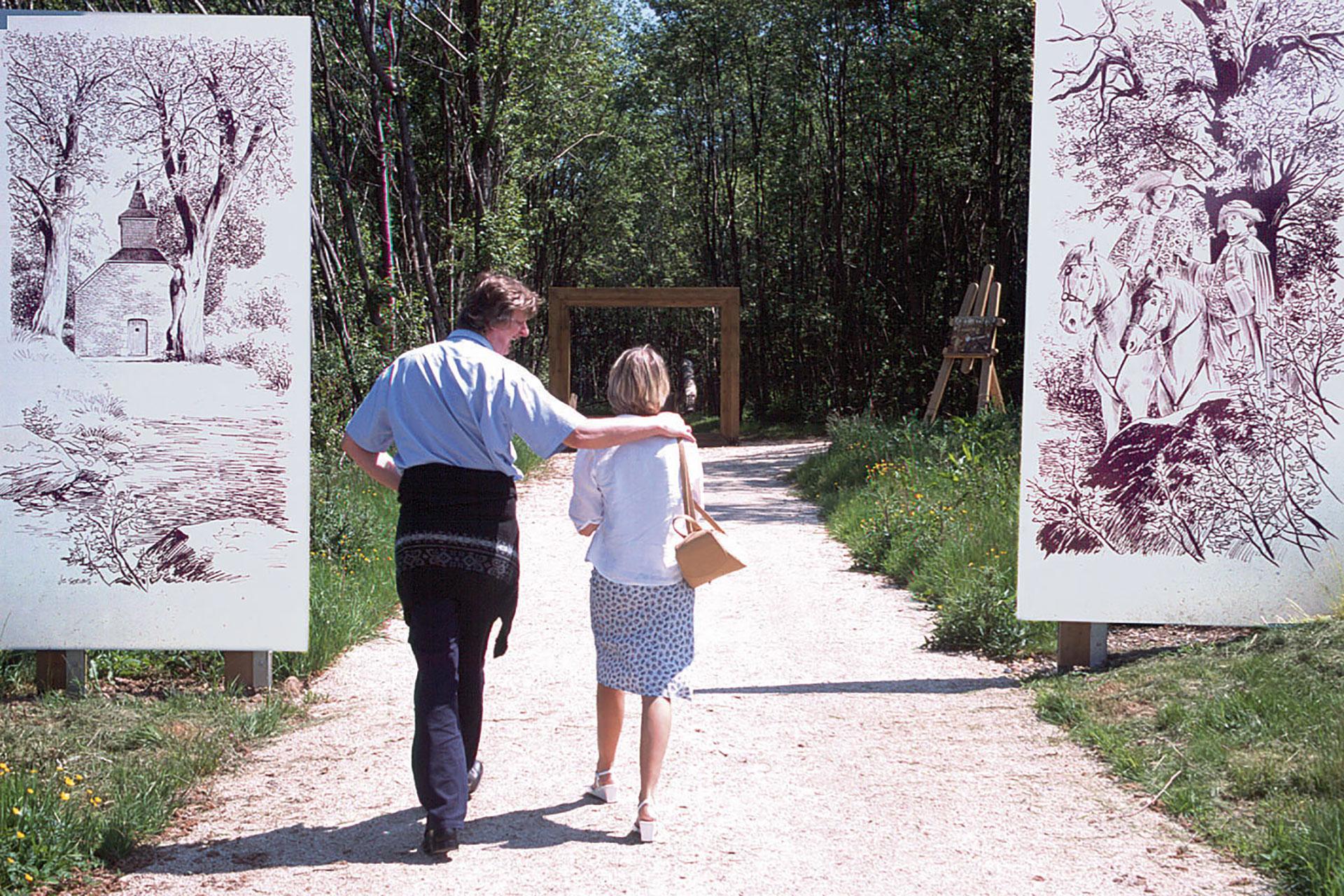 Parc - Chlorophylle - couple