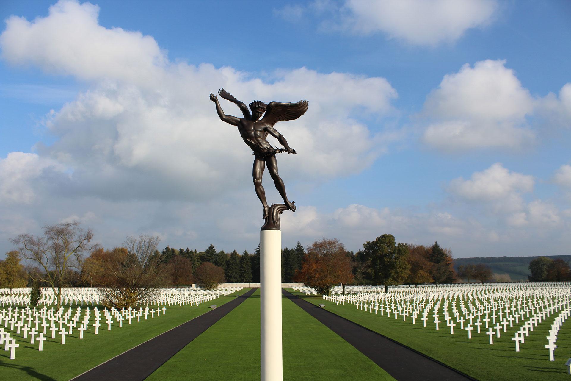 cimetière américain - 3 frontières - office du tourisme Plombières