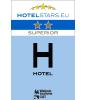 Classification officielle d'un Hotel en Wallonie : 2 étoiles SUPERIOR