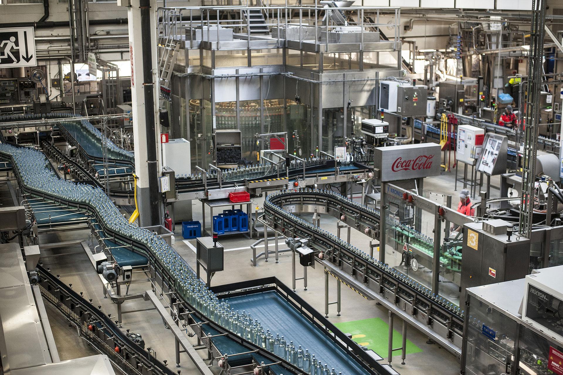 Waterhouse - usine - coca-cola - chaudfontaine