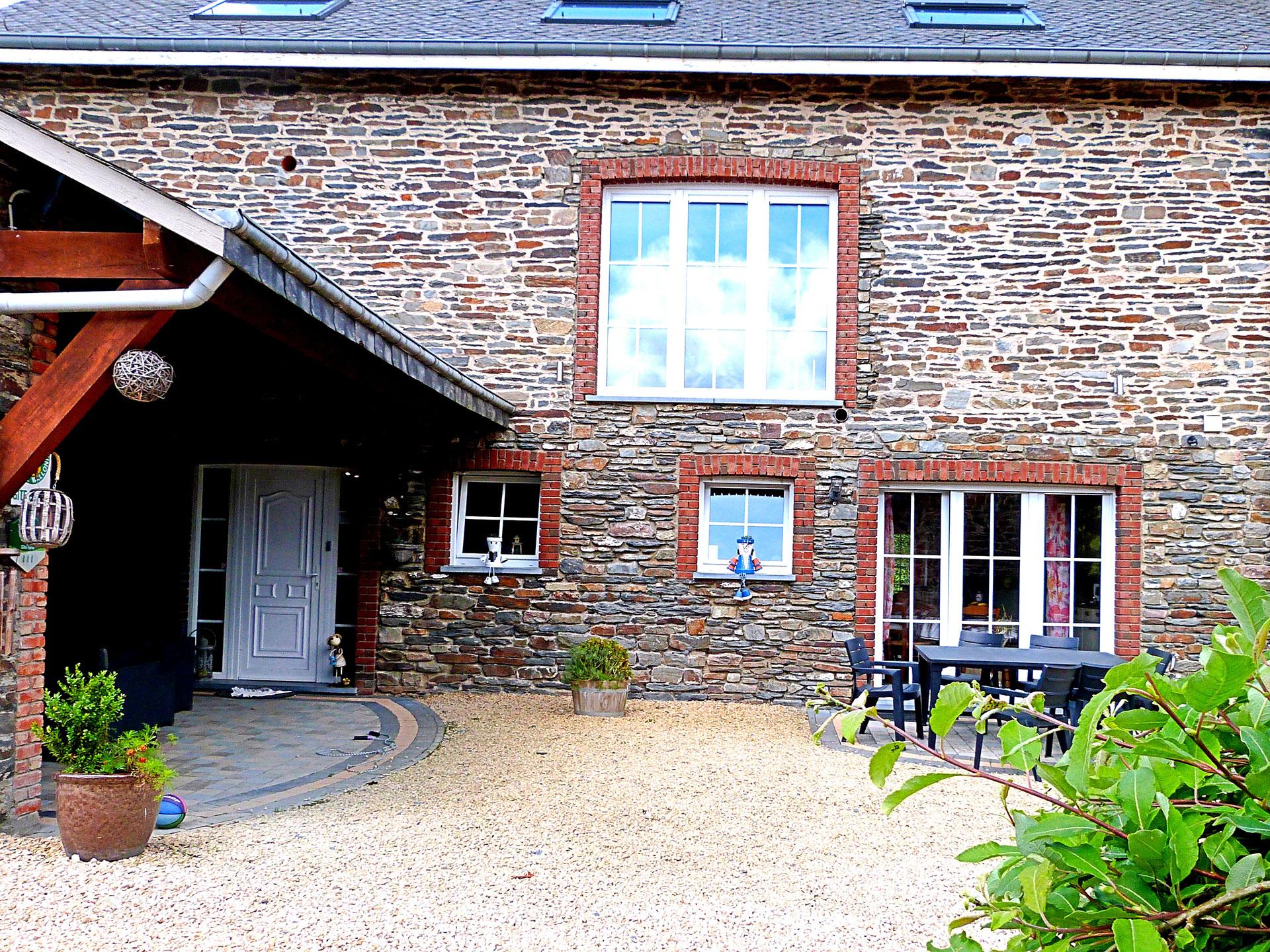 Gîte du Rancourt - Sous la grange - Gîte rural - Sainte-Ode