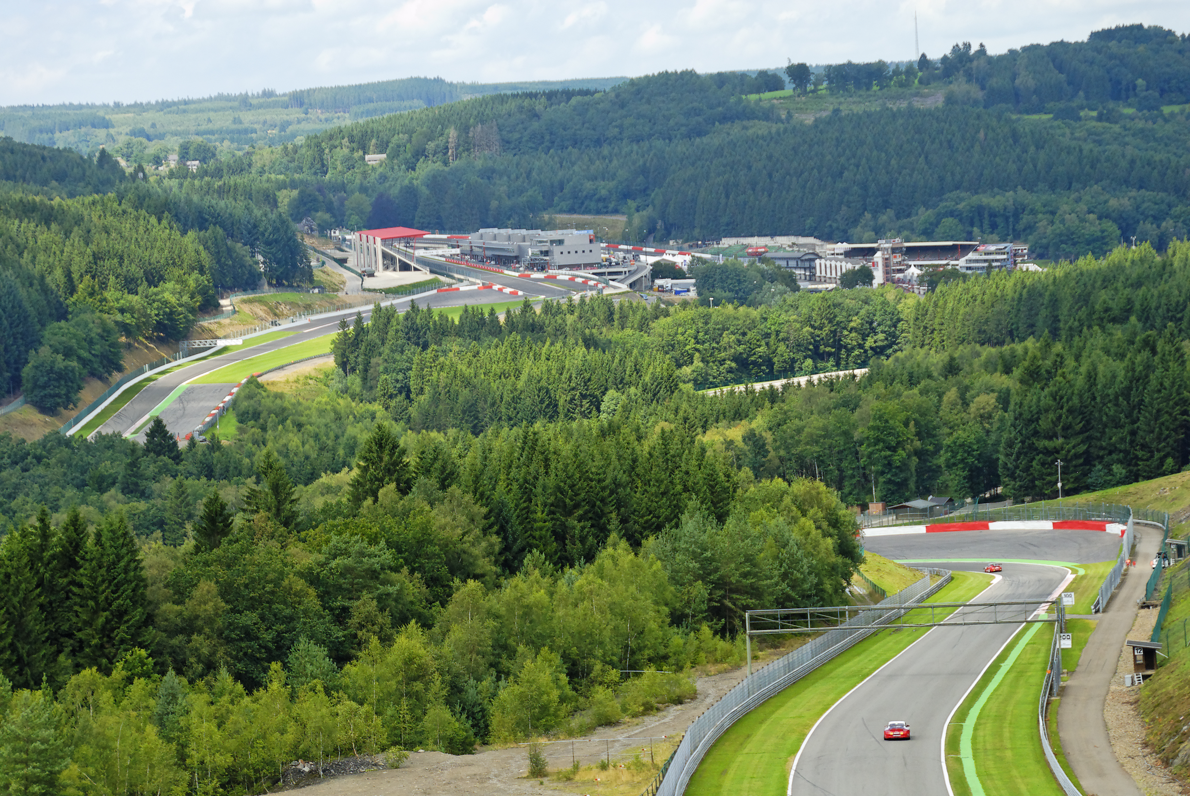 Circuit - Spa-Francorchamps - couse automobile