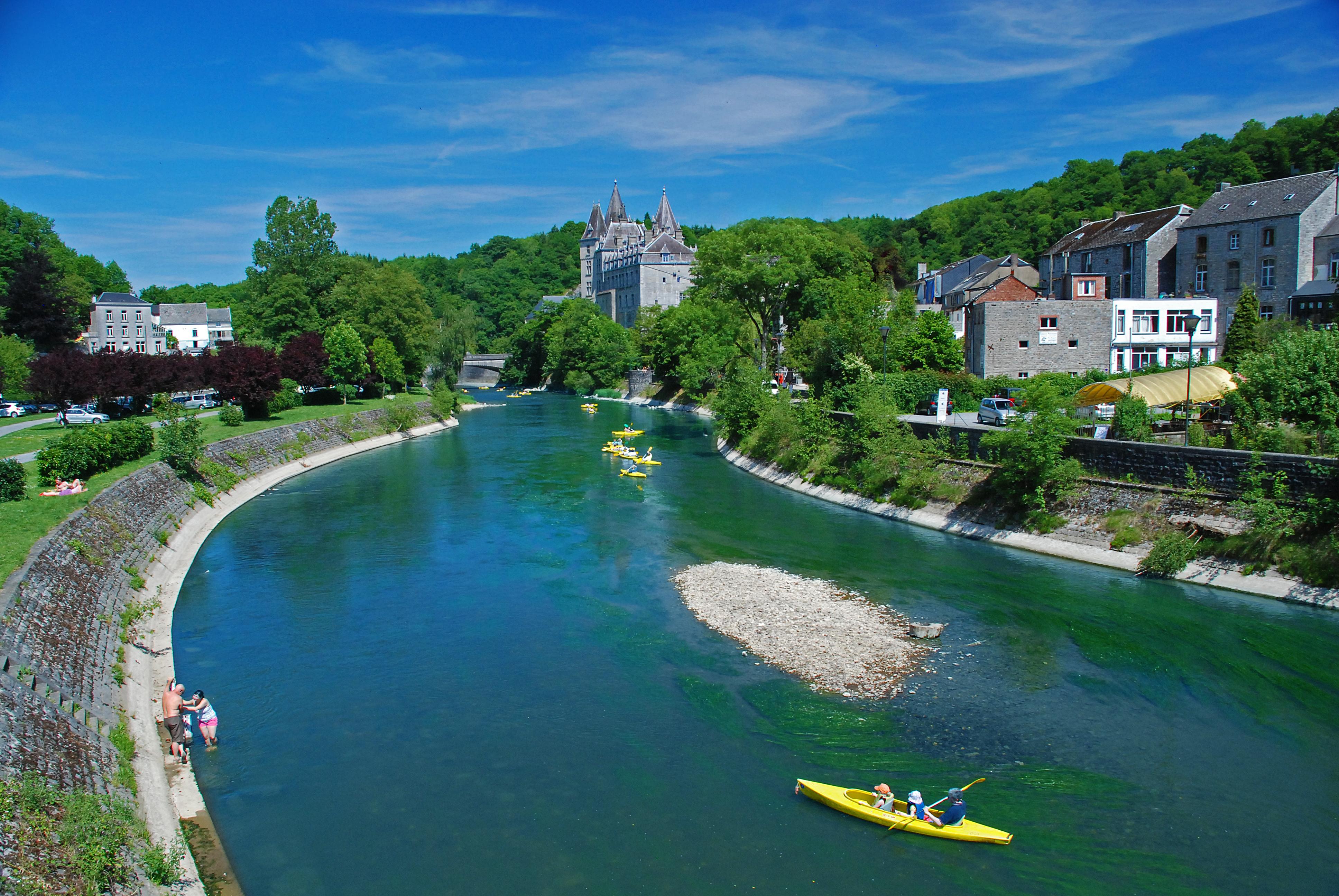 Wandelen in Durbuy en La Roche