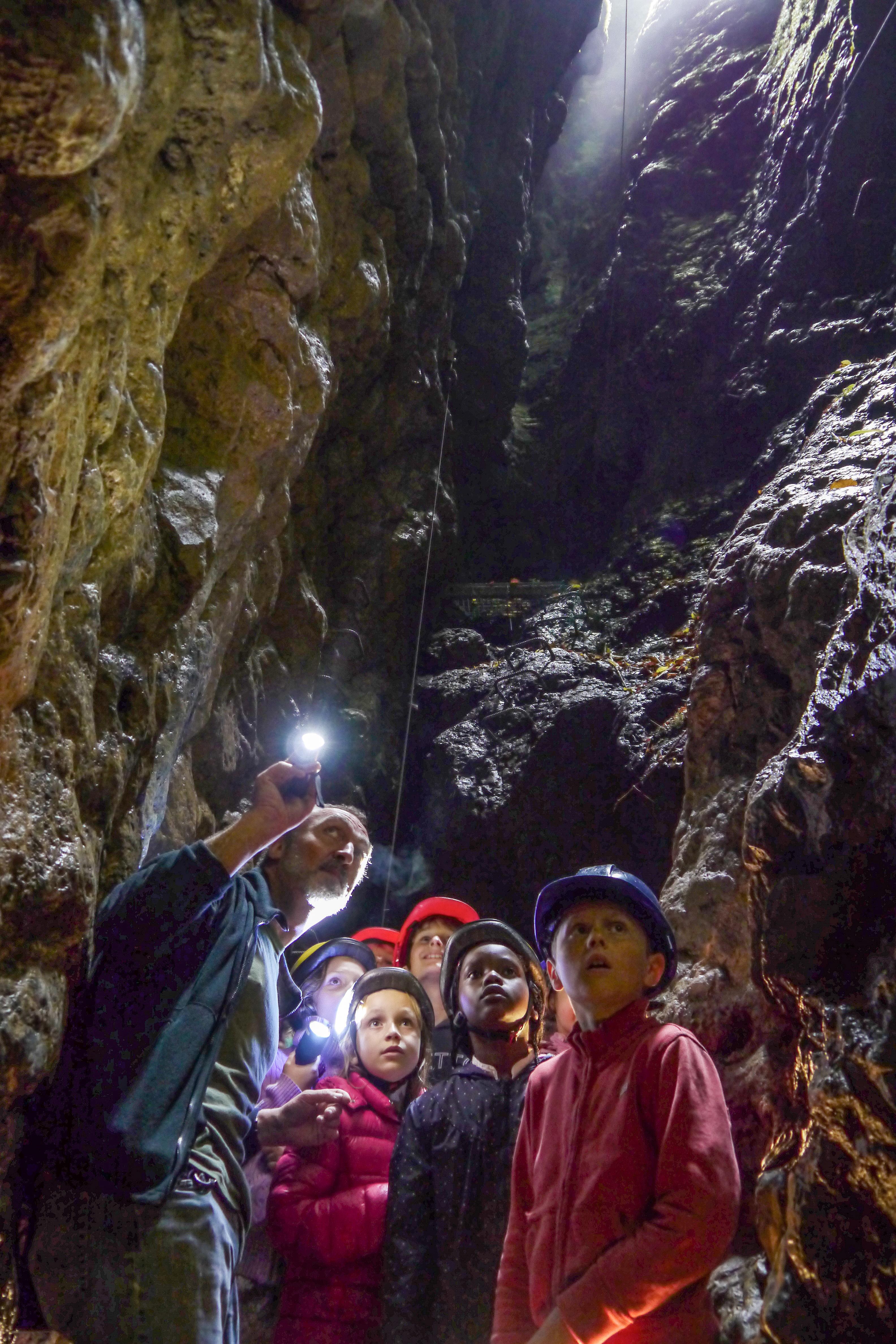 The Grotte de Comblain in Comblain-au-Pont