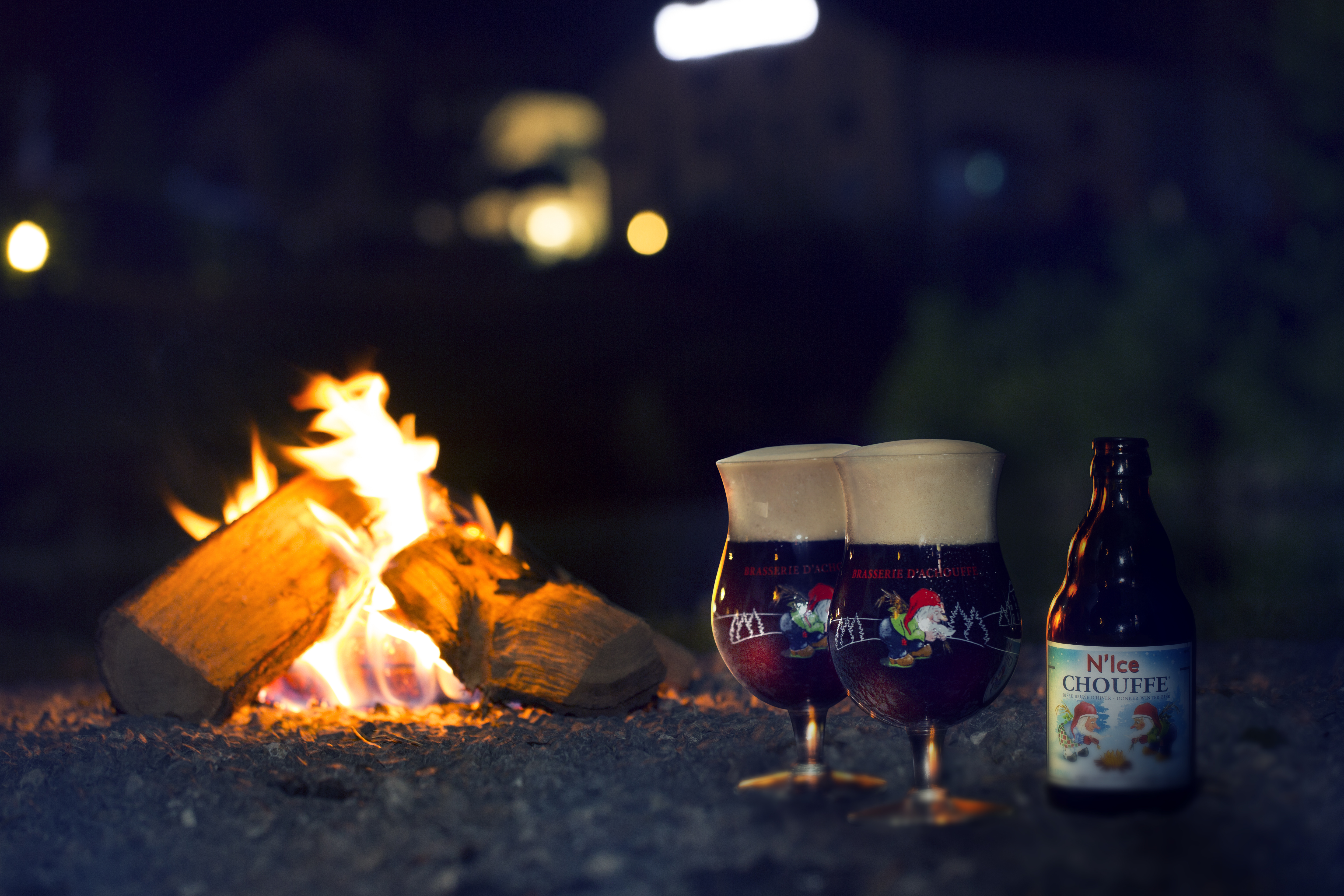 Chouffe N'Ice beer by the Achouffe brewery