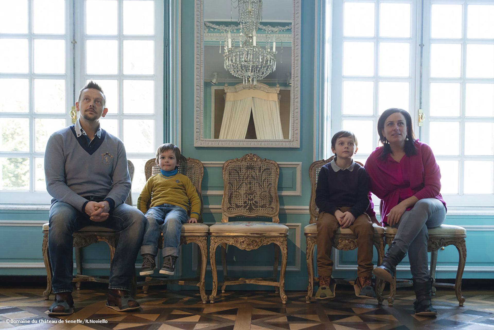 LDomaine - Château de Seneffe - musée - Orfèvrerie - intérieur