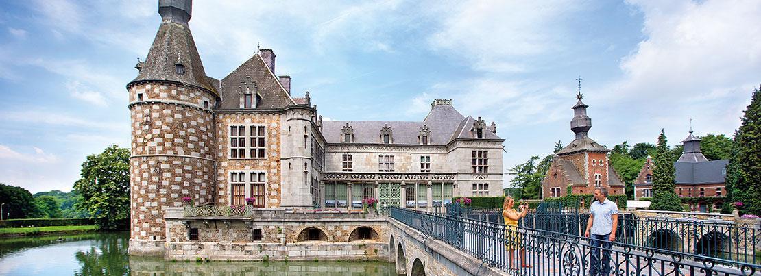 Balade châteaux - Château de Jehay