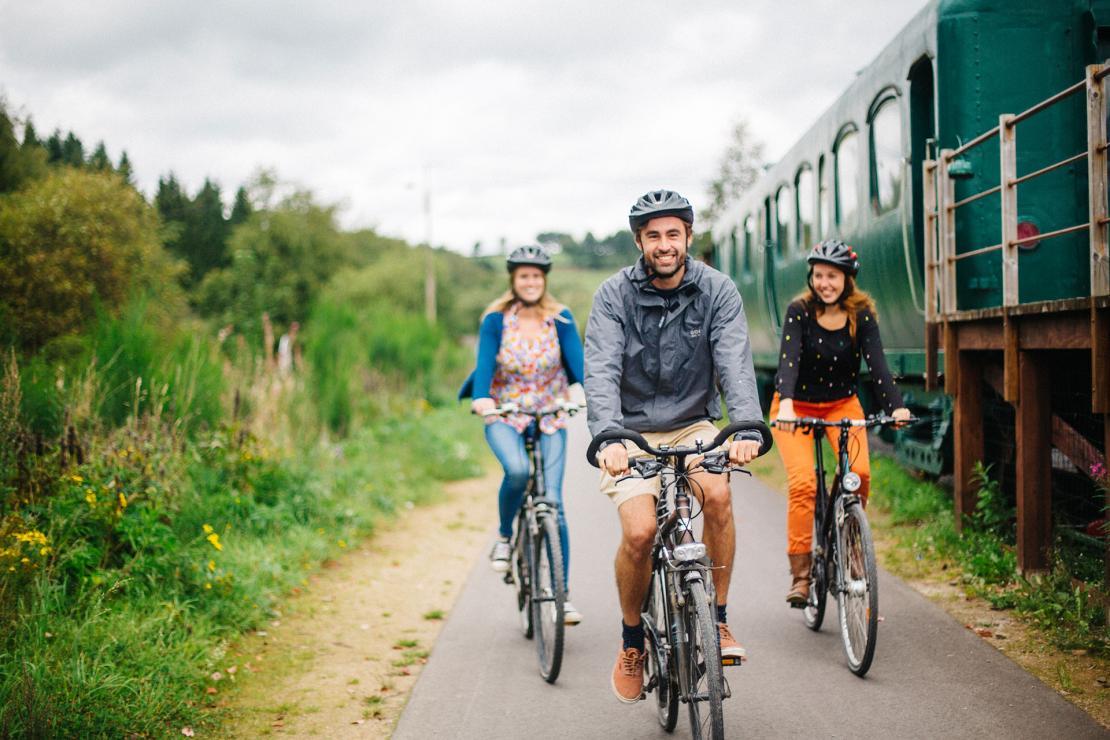 Bütgenbach - Vennbahn - RAVeL - vélo - wallonie