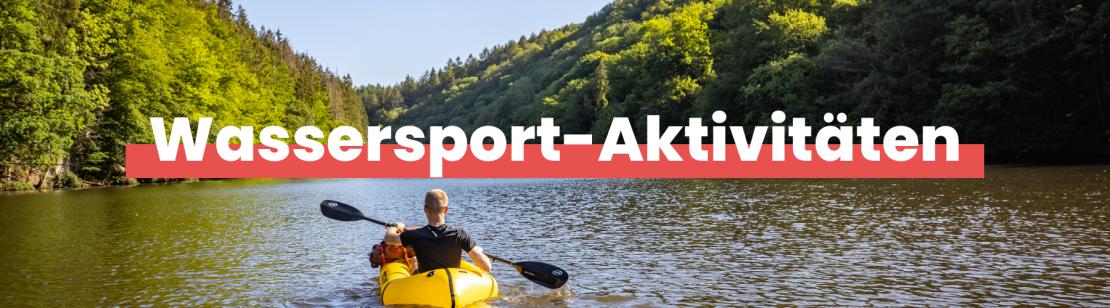 Wassersport-Aktivitäten