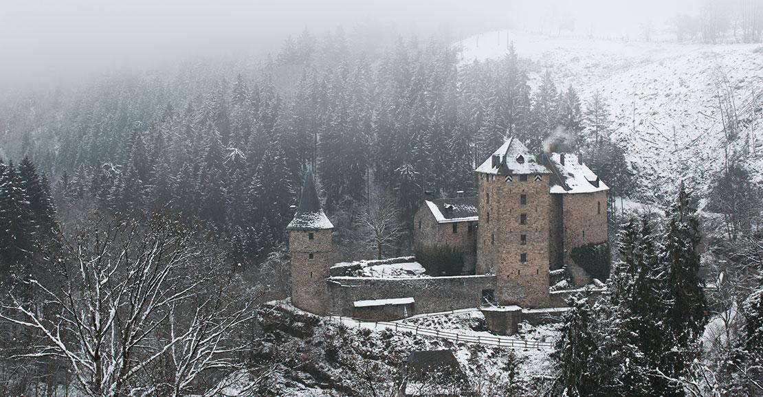 Château - Reinhardstein - neige