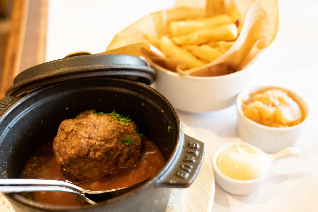 Boulets liégeois boulets sauce lapin
