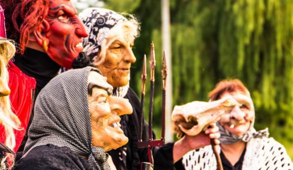 Sabbat des sorcières à Ellezelles