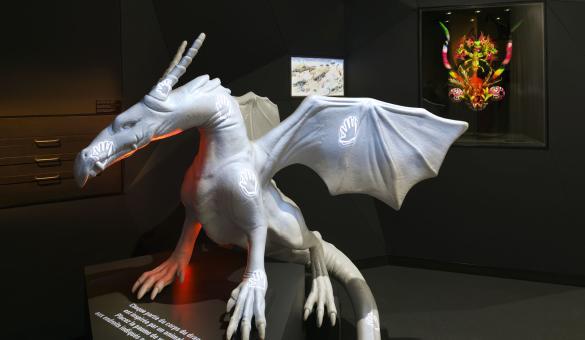 Musée du Doudou - Mons - Jardin du Mayeur - dragon