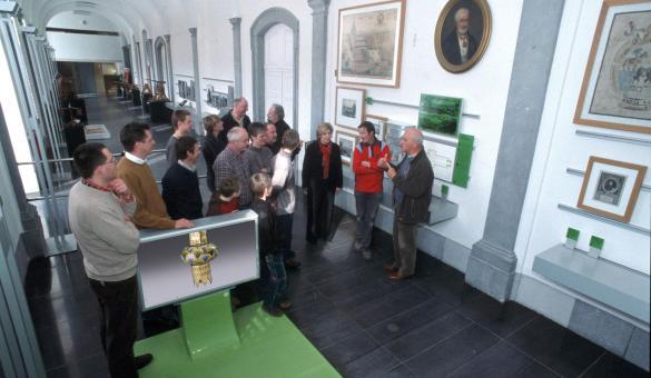 Abbaye - Stavelot - Espaces - Tourisme - Culture - Wallonie insolite