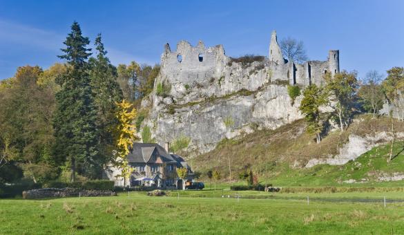 Château - montaigle - valée - Flavion