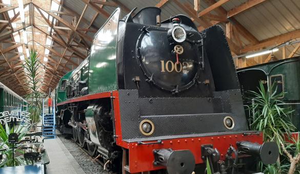 Musée - Chemin de Fer à Vapeur - Trois Vallées - Treignes - ancienne gare internationale - histoire industrielle