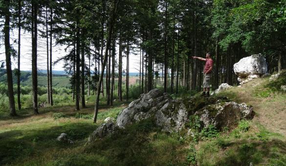Les Blancs cailloux - Mousny - Wallonie insolite