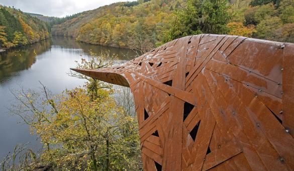 Parc Naturel - Deux Ourthes - Territoire protégé - Ardenne - Confluent - Oeuvre