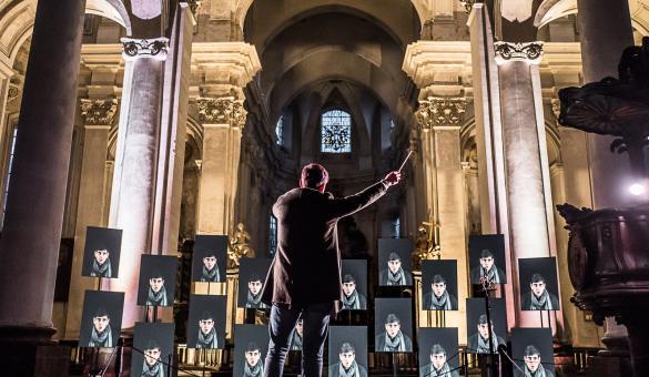 Namur KIKK Festival vue de l'événement 2018 à Namur