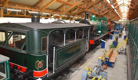 Musée du Chemin de Fer à Vapeur - Trois Vallées - musée ferroviaire
