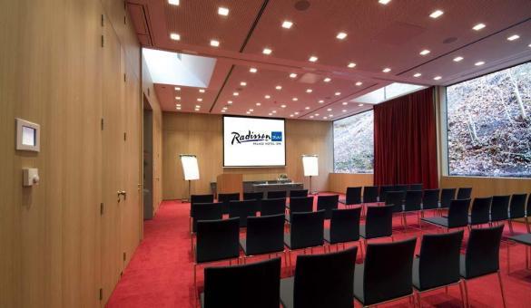 Radisson Blu Palace Hotel de Spa - Salle Terra avec lumière du jour