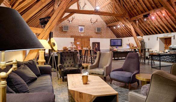 Salon de l'Abbaye de la Ramée pour des incentives en Wallonie