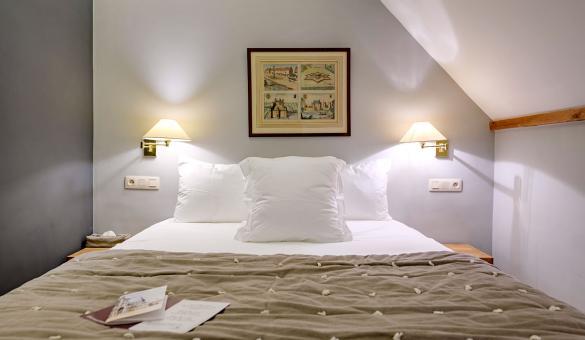 chambre à l'Abbaye de la Ramée pour vos réunions et hébergements en Wallonie